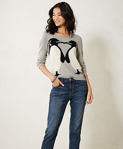 Anthropologie's Emperor Kiss Sweater.