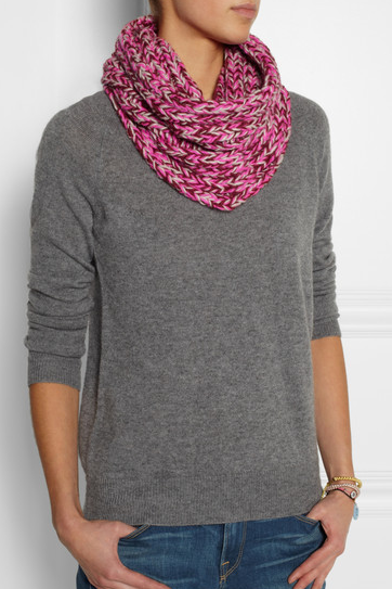 Marc by Marc Jacobs' My Boyfriend Chunky-knit Merino Wool Scarf.