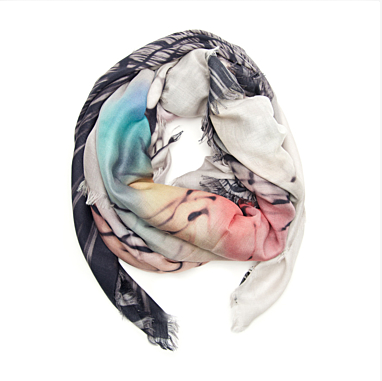 Mary Katrantzou's Multicolor Scarf.