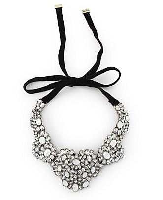 Cabochon Necklace: $98.