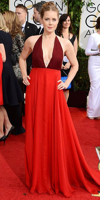 Amy Adams in Valentino.