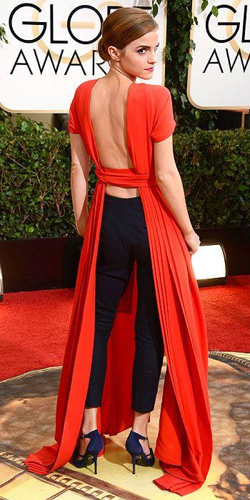 Emma Watson in Dior.