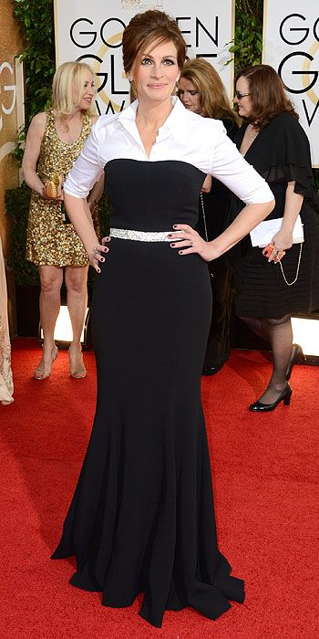 Julia Roberts in Dolce & Gabbana.