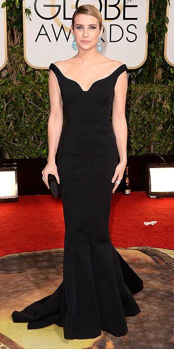 Emma Roberts in Lanvin.