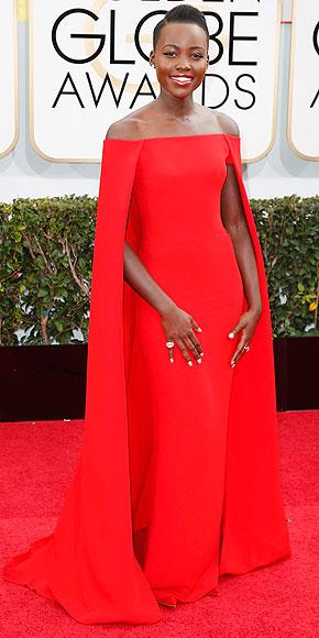 Lupita Nyong'o in Ralph Lauren.