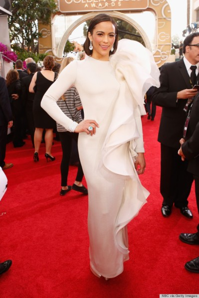 Paula Patton in Stephane Rolland Couture.