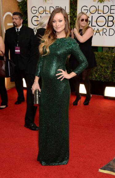 Olivia Wilde in Gucci.
