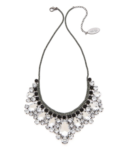 Crystal Fringe Necklace - $75.
