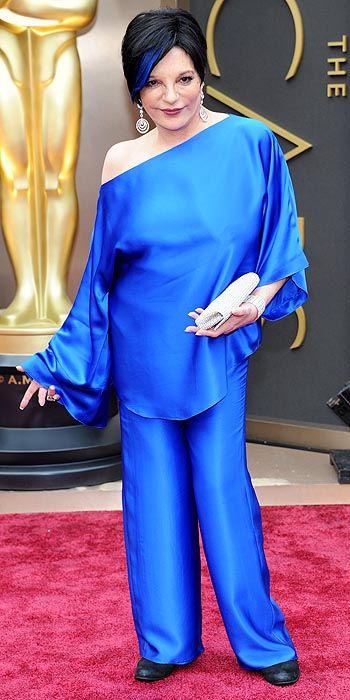 Liza Minnelli in vintage Halston.