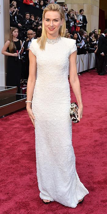 Naomi Watts in Calvin Klein.