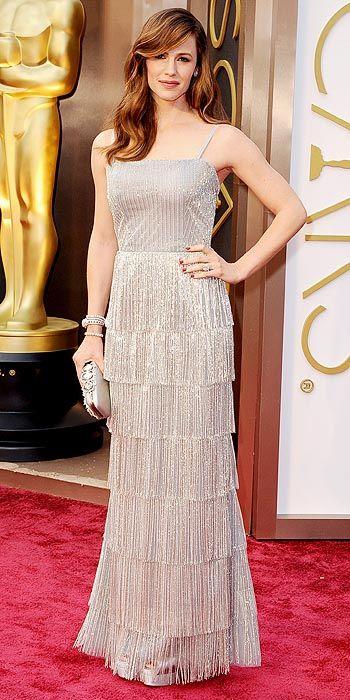 Jennifer Garner in Oscar de la Renta.