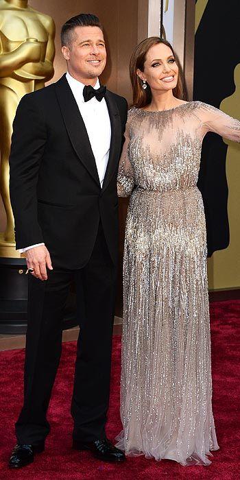Angelina Jolie in Elie Saab.