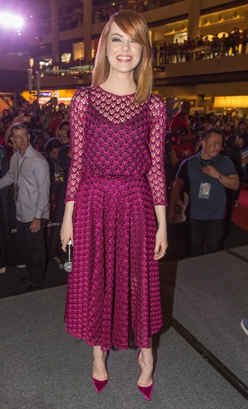 Wearing Christian Dior in Singapore.