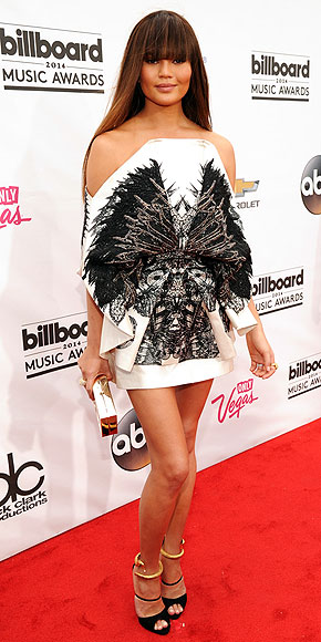 Chrissy Teigen in Fyodor Golan.