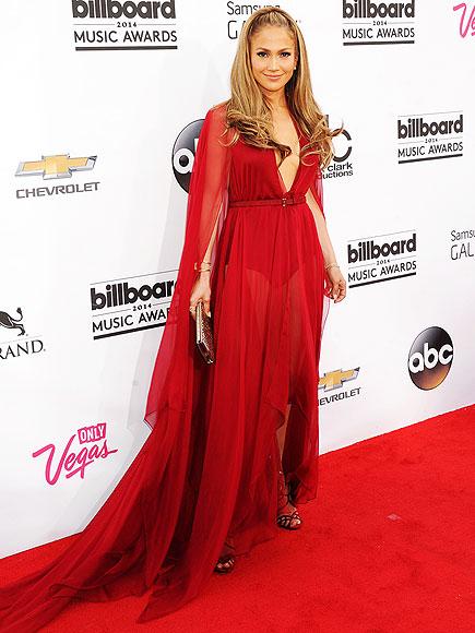 Jennifer Lopez in Donna Karan.