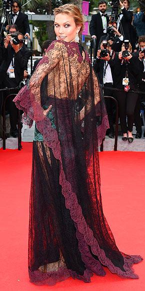 Karlie Kloss in Valentino.