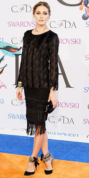 Olivia Palermo in Ann Taylor.