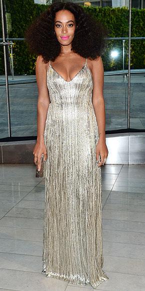 Solange Knowles in Calvin Klein.