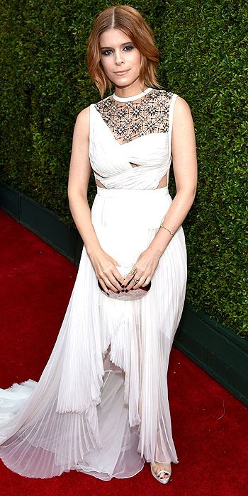 Kate Mara in J. Mendel.