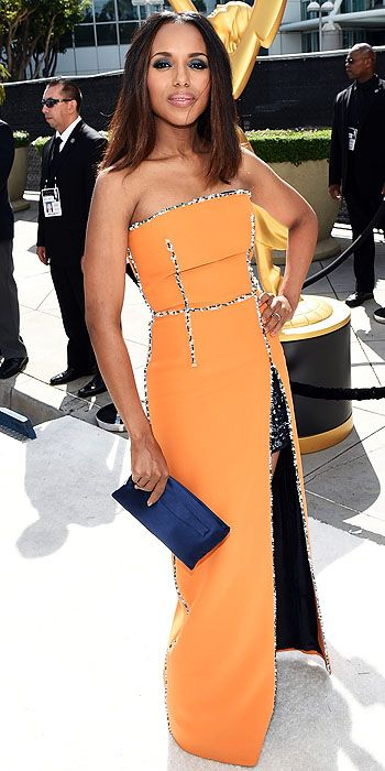 Kerry Washington in Prada.