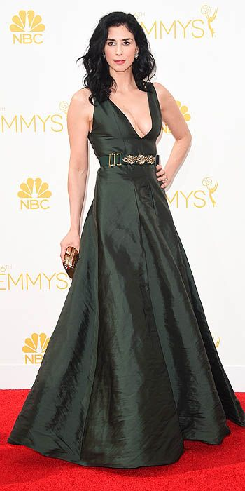 Sarah Silverman in Marni.