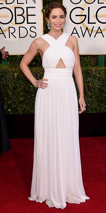 Emily Blunt in Michael Kors.